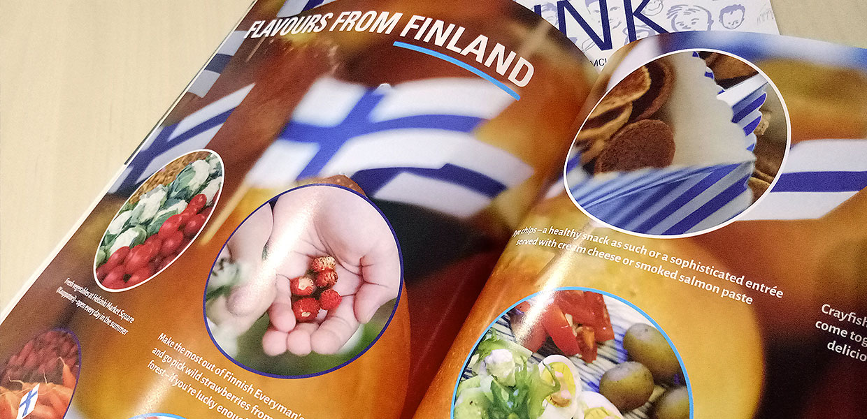 FinnLink Magazine for Finnish Business Council Singapore