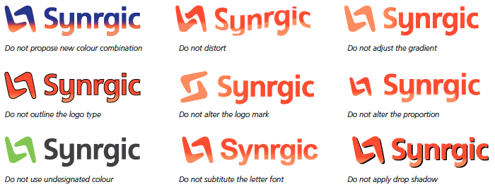 Your official logo and the dos and do-nots of using it
